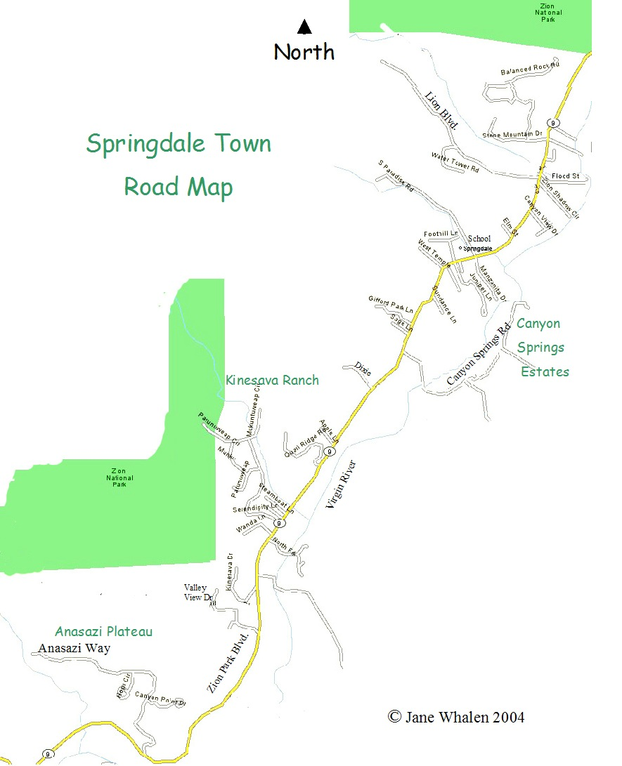 springdale-map